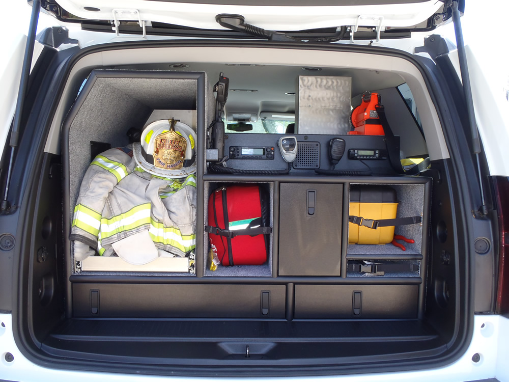 1366 – 2010 Chevy Tahoe Fire Chief's Truck