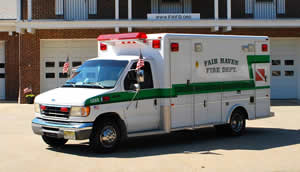 1388 – 1993 Ford E-350/PL Water Rescue Truck